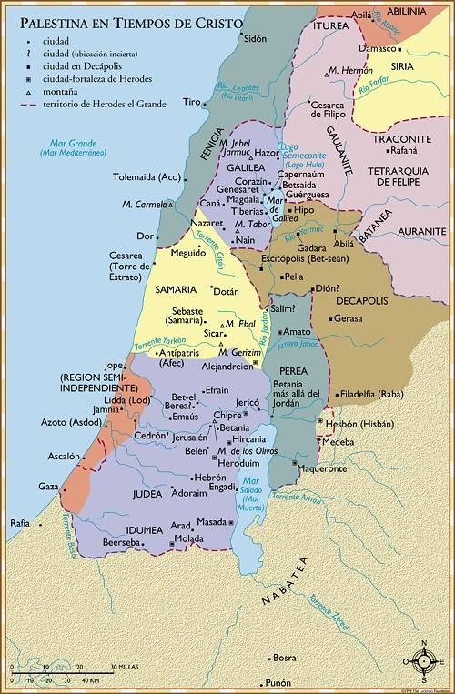 Palestina en tiempos de Cristo - 2