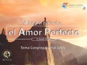 Alcanzando el Amor Perfecto 2015 - Portada