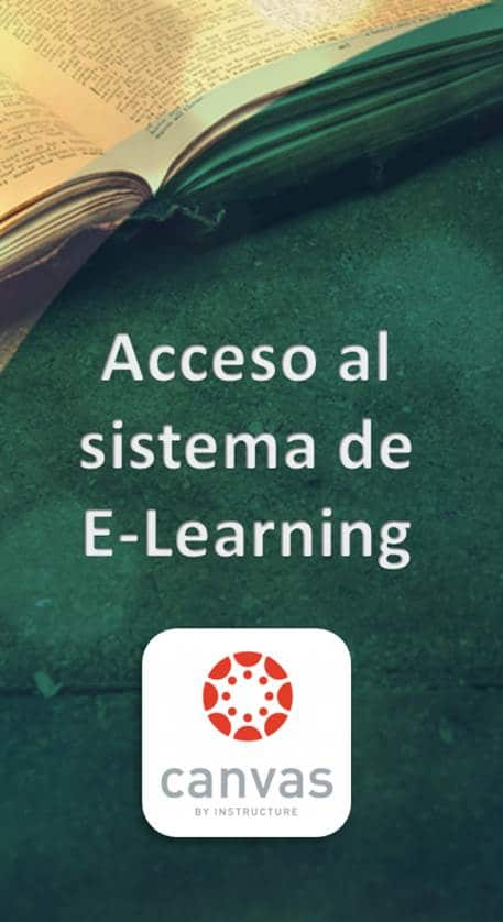 Acceso a E-Learning Canvas